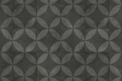 Tile Flower Black