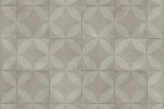 Tile Flower Light Grey