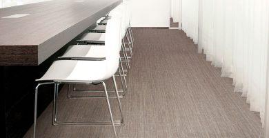 suelo vinílico tejido con aspecto textil 2tec2