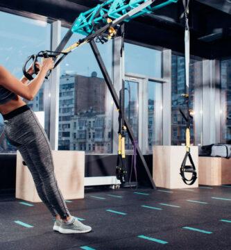 suelo de portivo de caucho Energy especial para entrenamiento con pesas